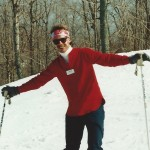 So you want to learn to ski?  me 1988
