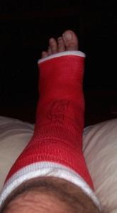 Injury!