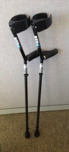Sidestix Full Time Crutch User!