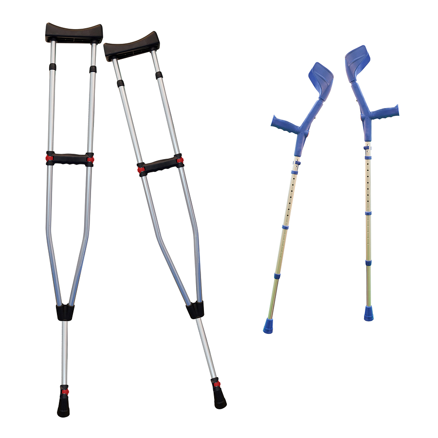 Something productive to do on crutches?