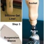 prosthtic leg collage