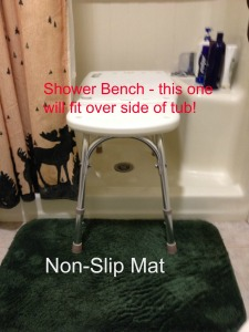 shower bench 2