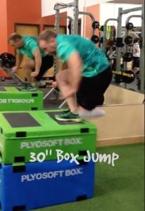 30 box jump